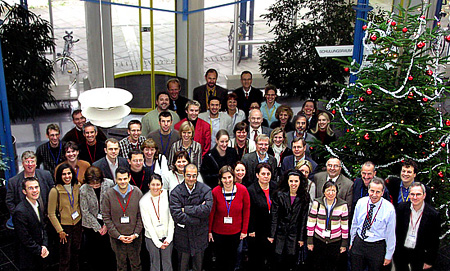 Figure 1: Group photo of the 1st joint CRL/NRL Workshop participants (not complete).